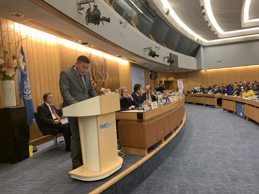 Mongolia participates in 31st Session of IMO General Assembly