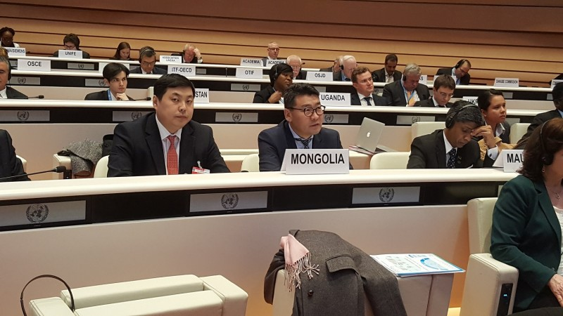 Delegation of Ministry of Road and Transport Development of Mongolia participates in UNECE Inland Transport Committee 79th Session and Ministerial Meeting in Geneva