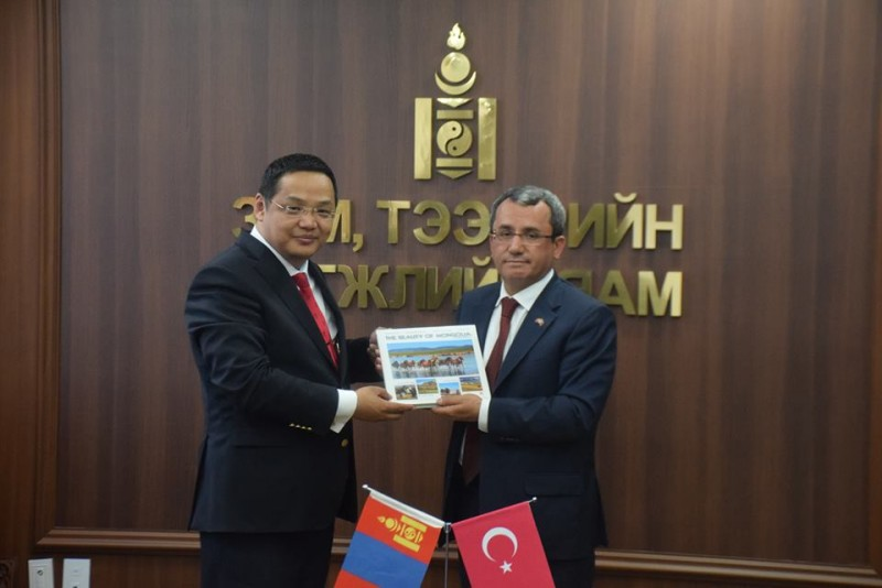 MONGOLIA AND TURKEY TO COOPERATE ON TRANSPORT DEVELOPMENT